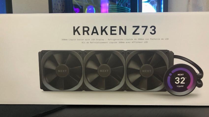 CPUクーラーを簡易水冷にするだけで冷え冷え?!見た目もかっこよすぎるNZXT KRAKEN Z73レビュー